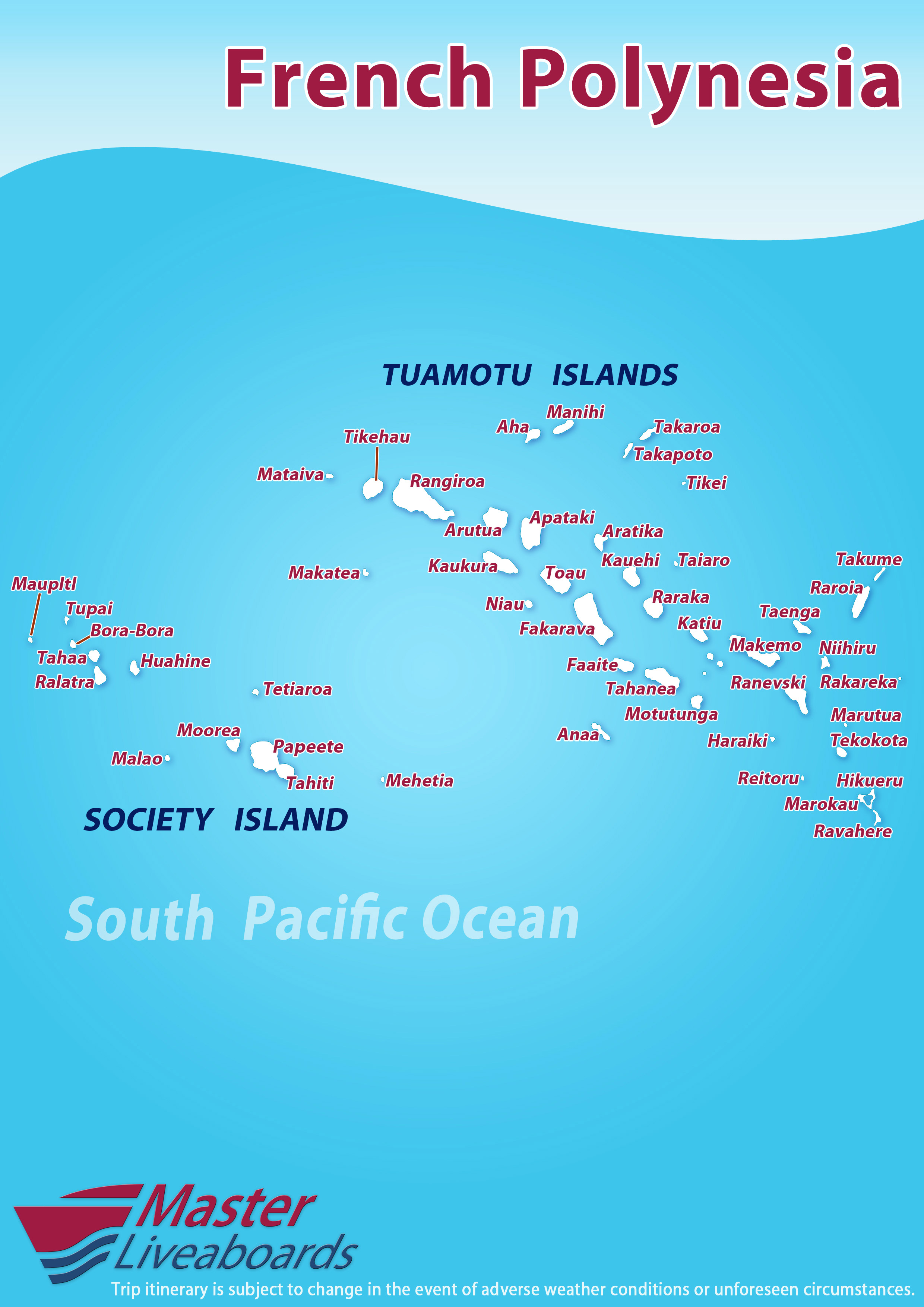 Tuamotu Archipelago, French Polynesia Expedition 2018: Fakarava to Rangiroa atoll